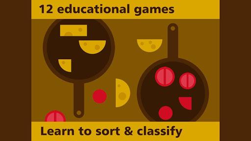 選別機-教育ゲムのためのキッズや色 形 形状を学習キッズ キ