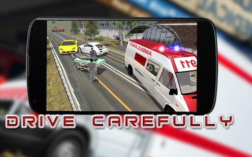 Emergency Rescue Ambulance City Drive Simulator 3D - náhled