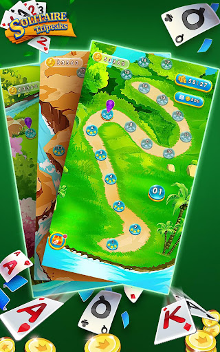 Solitaire Tripeaks - Free Card Games modavailable screenshots 16
