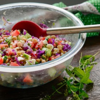 Chickpea and Lentil Salad Recipe
