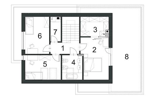 Wyjątkowy D41 - Rzut piętra