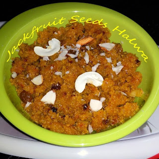 Jackfruit Seeds Halwa