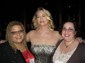 Photo: Kate and I with Cybill Shepherd.