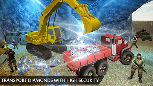 Grand Excavator Simulator - Diamond Mining 3D screenshot 5