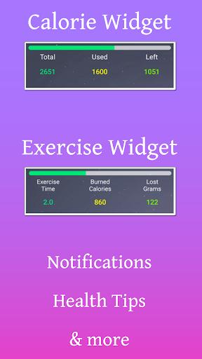 Calorie Counter - EasyFit free 3.5 screenshots 8