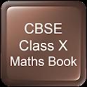 CBSE Class X Maths Book icon