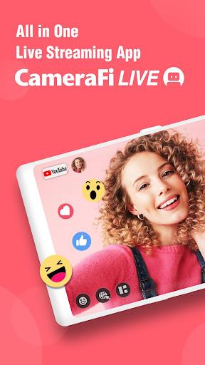 CameraFi Live - YouTube, Facebook, Twitch and Game screenshot 1