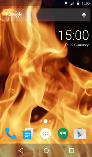 Burning Live Wallpaper 1.4 screenshots 1