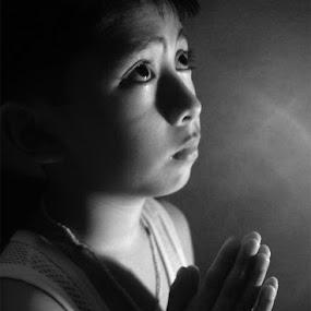 Hope by Arren Lateo - People High School Seniors ( prayer, solemn, fervent, hope )