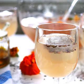 Boozy Honey Lavender Lemonade.
