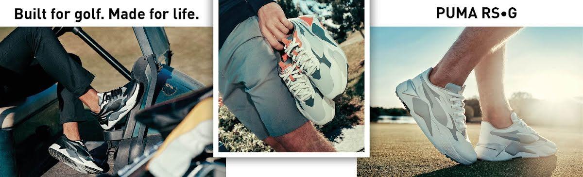 Puma RS-G - En golfsko med perfekt kombination av street- och sportmode
