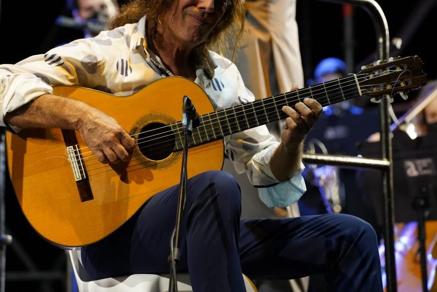 El arte de la guitarra flamenca de Tomatito.