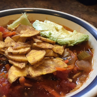 Chicken Tortilla Soup [Instant Pot]
