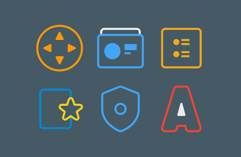 TwoPixel - Icon Pack Screenshot 2
