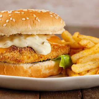 Oven-Fried Fish Sandwiches.