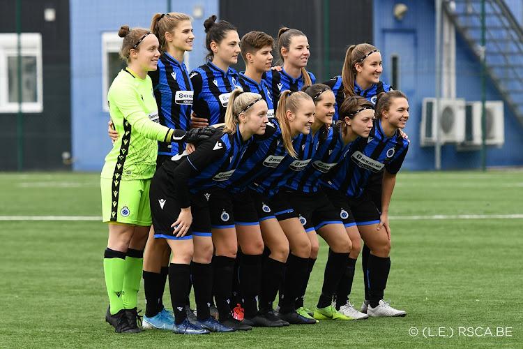Club Brugge vrouwen hebben nieuwe shirtsponsor