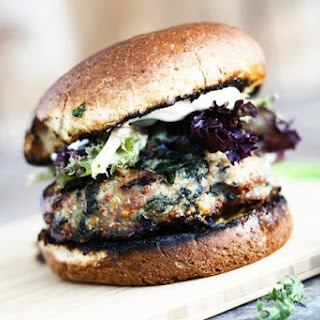Spinach and Feta Grilled Turkey Burgers Recipe