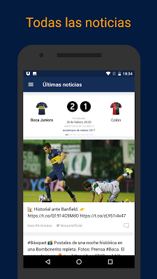 Boca Live — Fútbol en directo - screenshot