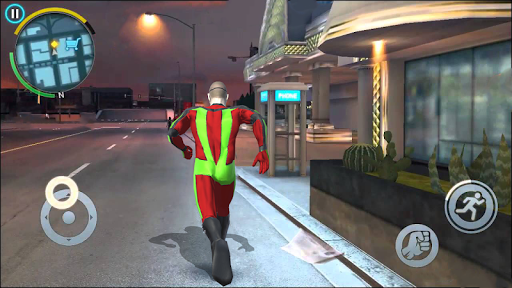 Immortal Captain Hero Flying Spider Rescue Mission  screenshots 6