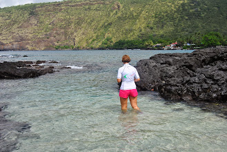 Photo: la Barbuna va a snorkelare