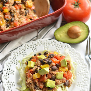 Mexican Quinoa Casserole {GF, Low Cal} Recipe