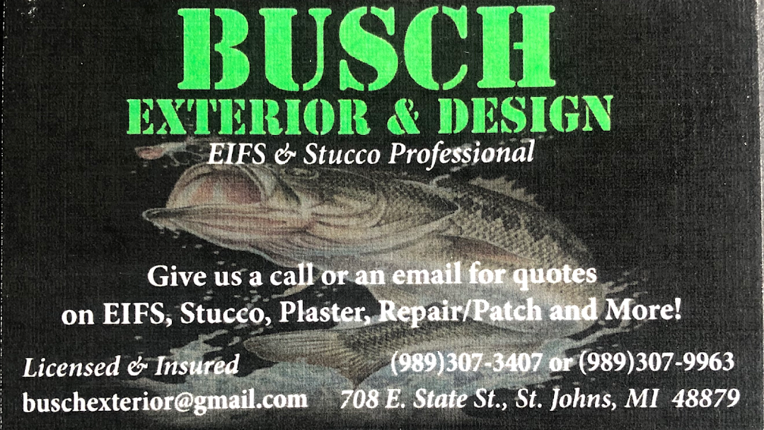 busch exterior eifs plaster stucco and repair contractor in