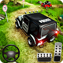 Offroad Police Jeep 4x4 Driving & Racing Simulator icon