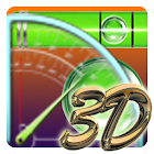 Protractor and leveler icon