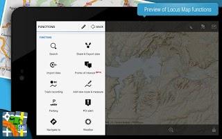 Screenshot of Locus Map Free - Outdoor GPS
