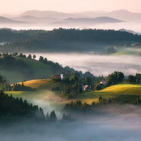 Jutro v hribih by Milan Mihalič - Uncategorized All Uncategorized