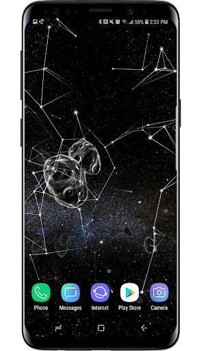 Space Particles 3D Live Wallpaper  screenshots 21