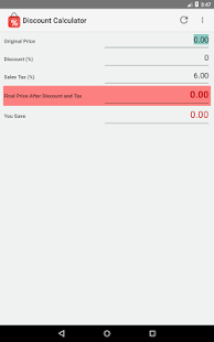 Discount Calculator- screenshot thumbnail