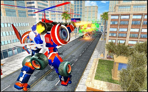 Transmute Robot Superhero - náhled