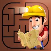 Diggy's Adventure: Escape this 2D Mine Maze Puzzle