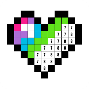 Color by Number: Coloring Book Free - Pixel Art for PC