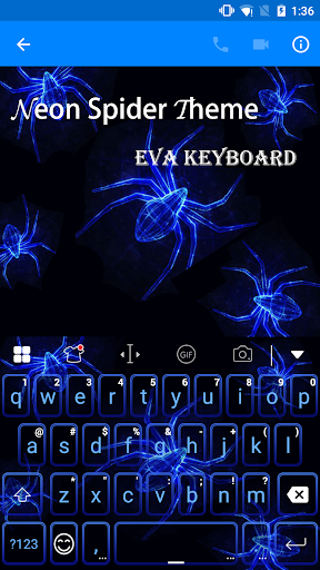 Spider Eva Keyboard -Diy Gif