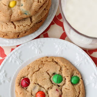 Better than the Bakery Peanut Butter M&M Cookies