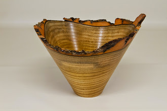 "Photo: Phil Brown 5 3/4"" x 7 3/8"" bark edge vessel[sassafras]"