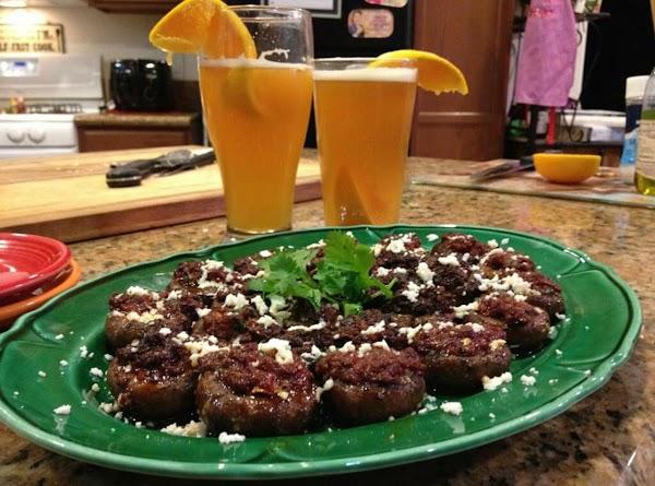 Chorizo Stuffed Mushrooms Recipe