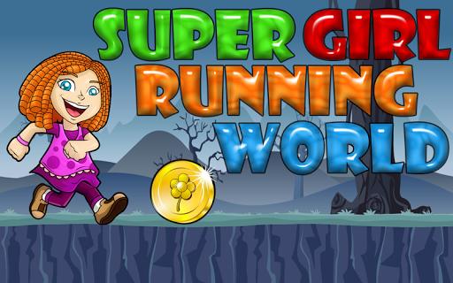 Super Girl Running world