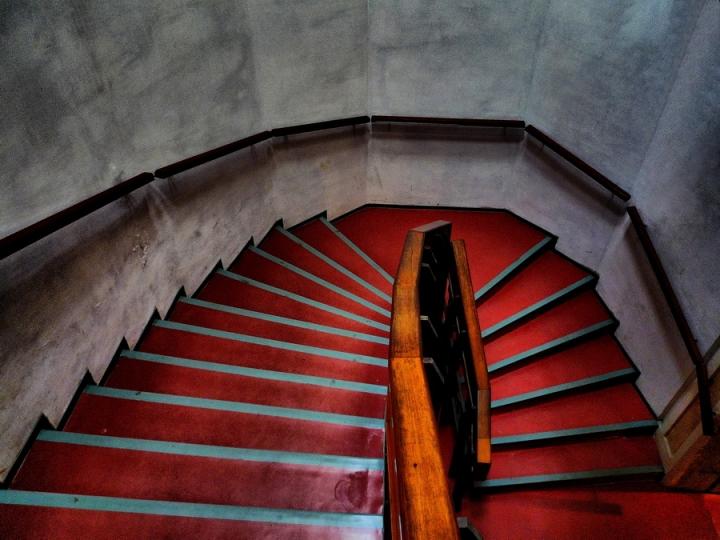 Scala Rossa di Cavour