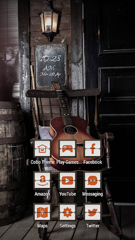 android Quiet Guitar on the Chair Screenshot 0