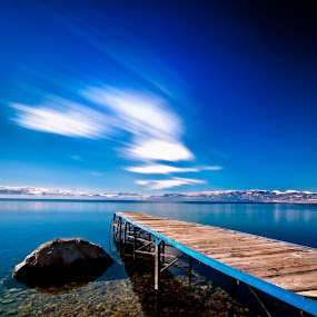 Blue by Rilind Hoxha - Landscapes Waterscapes