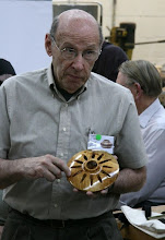 "Photo: David Jacobowitz - ""starburst"" - ambrosia-maple carved hollowform."