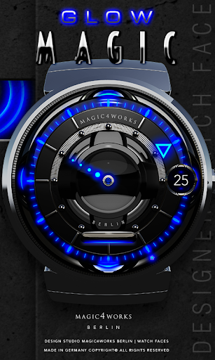 Blue Magic Watch Face