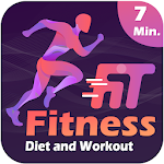 Fitness Diet & Workout icon