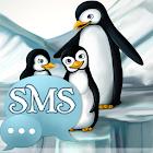 Penguins Theme GO SMS Pro icon