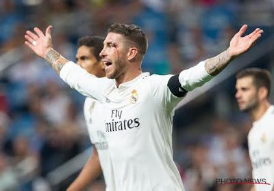 Le Real Madrid doit se passer de Sergio Ramos et donne des nouvelles de Thibaut Courtois