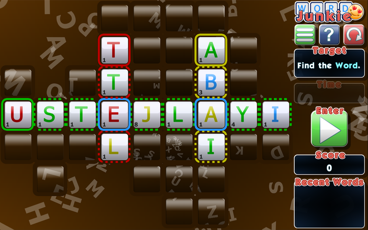 Word Junkie (free)- screenshot