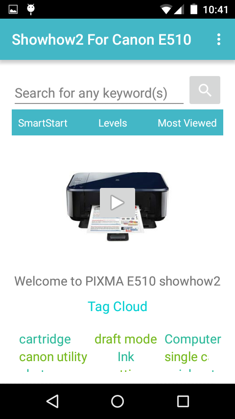 Showhow2 For Canon Pixma E510 Android Apps On Google Play